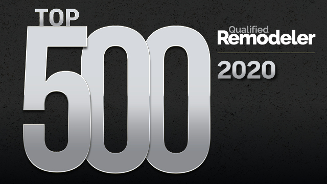 Qualified Remodeler's Top 500 List for 2020